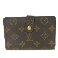 Auth LOUIS VUITTON Portefeuille Viennois Bifold Wallet Monogram M61674 08BK561