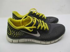 NIKE Men's Size 10 Athletic LIVESTRONG RUNNING Gray Sneakers #B709