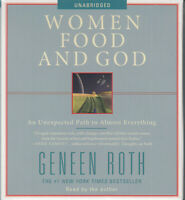 Women Food & God Unexpected Path Almost Everything Geneen Roth 5CD Audio Book