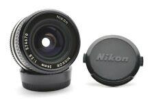 Nikon Nikkor 2,8 / 24 mm Weitwinkel MF Prime Objektiv Wide Lens Ais Mount k29