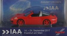 Herpa 928236 Porsche 911 Targa 4(R) IAA Frankfurt 2017
