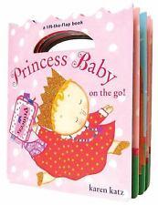 Princess Baby: Princess Baby on the Go by Karen Katz (2010, Board Book)