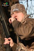 AVERY GREENHEAD GEAR WINDPROOF FLEECE SKULL CAP HAT W/GHG LOGO BUCKBRUSH CAMO