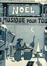 Les sabots de Noël poésies de Privas ill.de Mirande musique de Charton 1906