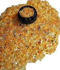 3ml Flakes Glitter in Acryl Dose, Orange, 807-011-a