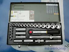 """Proxxon 23000 Steckschlüsselsatz 1/2"""" 29-teilig von 8-34mm"""
