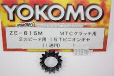YOKOMO Pignon 15 dents  embrayage réglable (GT-4) 31010