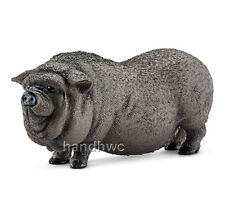 Schleich 13747 Pot-bellied Pig Model Farm Animal Toy - NIP