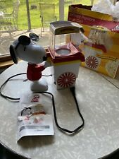 New Unused /opened Box Peanuts Snoopy Popcorn Push Cart
