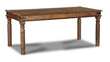 JALI NATURAL SOLID SHEESHAM FURNITURE 180CM DINING TABLE (J42N)