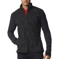 Adidas Men's Supernova Storm Running Jacket , Black/Grey