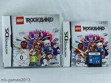 LEGO Rock Band Rockband für Nintendo DS/Lite/XL/3DS - OVP+Anl. - Sehr gut
