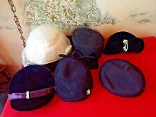 6 Vintage Ladies Hats