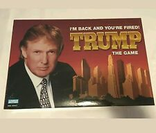NEW SEALED Donald Trump the Game I'm Back and You're Fired board game President