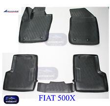 Tappetini auto in Gomma su misura – Tappeti Auto Set 4 PZ. FIAT 500X  2015>
