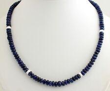 Cianita Collar de piedras preciosas Cyanit Azul Hermoso