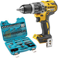 DeWalt DCD796 18V Brushless Combi Drill With P-90249 100Pcs Drill Driver Bit Set