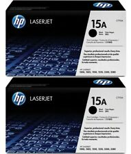 2 x HP GENUINE/ORIGINAL C7115A 15A BLACK LASER PRINTER TONER CARTRIDGE *NEW*