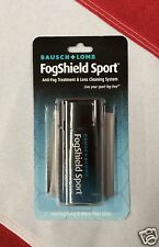 Bausch+Lome fog shield sport anti-fog treatment lens cleaning system dive mask