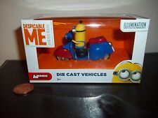 Despicable Me Minion Die-Cast Car,Tim Vespa Scooter,See Others & Combine,Minions