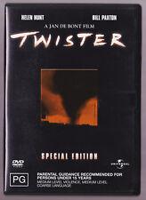 LIKE NEW - Twister Special Edition (Helen Hunt Bill Paxton) DVD Region 4