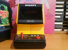 Nintendo  snoopy tabletop game, taken apart,and  cleaned.