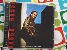 VASCO ROSSI CD COSA SUCCEDE IN CITTÀ CAROSELLO CD GOLD NO BARCODE