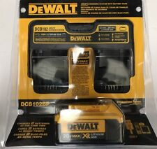 Brand New Dewalt Jobsite Charging Station With Battery Pack DCB102BP