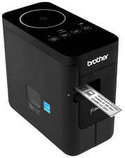 BROTHER P-TOUCH P750W ETICHETTATRICE PROFESSIONALE COLLEGABILE A PC, NUOVO