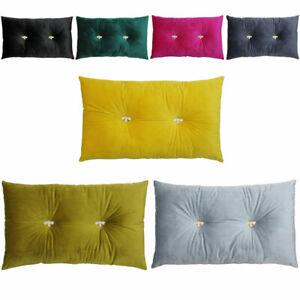 Paoletti Bumble Jewelled Velvet Filled Boudoir Cushion, 30 x 50 Cm