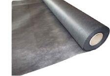 Weed Control Black Mulch Mat Spunbond Polyester Mulch Mat 1.8m x 30m