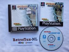 Actue Ice Hockey 2 - Complete Game PAL - Playstation 1 PS1