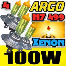 Gelb H7 100 Watt +50% = 100w Xenon Gas HID Halogen Lampe Hi oder Abblendlicht Haupt DIP