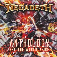 MEGADETH Anthology Set The World Afire 2CD BRAND NEW Best Of Greatest Hits