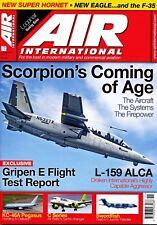 AIR INTERNATIONAL 93/5 NOV 2017 Scorpion,F-35,Draken Intl,RQ-7B,Gripen E,C-130J