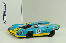 Porsche 917k 917 K gespina # 12 200 KM NURBURGRING Neuhaus 1971 1:18 NOREV