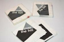 Vtg Lot 48 'Over The Hill' Party Napkins Beverage paper Art 3-ply
