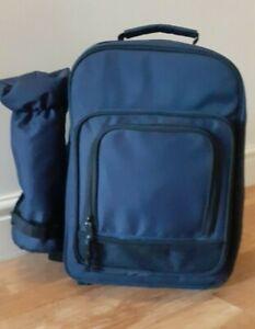 Picnic Backpack Rucksack Hamper Day Bag with Bottle Cooler 2 Person New