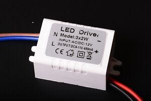DRIVER CORRENTE COSTANTE PER LED input 12v 24v AC DC out 450mA 3x2w 9-11v B4B7