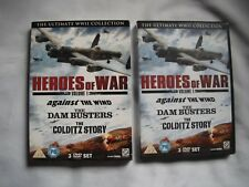 Heroes of War Vol 1 - Against the Wind / Dam Busters / Colditz Story - 3 Discs