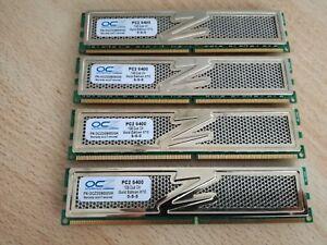 Memory OCZ Gold Edidion XTC 4GB(4x1GB) ddr2 800MHz OCZ2G8002GK