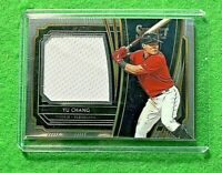 YU CHANG PATCH RELIC ROOKIE CARD CLEVELAND INDIANS 2020 PANINI SELECT BASEBALL