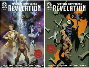 Masters of the Universe Revelation #1 Cover A B Variant Set Options Presale 7/7