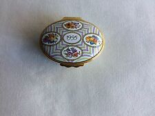 Halcyon Enamel Box A Year To Remember 1995