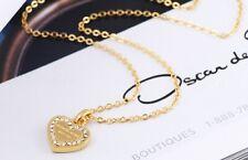 Michael Kors Heart Pendant Gold Chain Necklace
