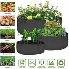 Fabric Plant Grow Bags Pots Planter Root Container with Handle Garden Supplies