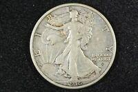 1916-D Walking Liberty Half Dollar, Very Choice Very Fine, Ex-PCGS w/insert