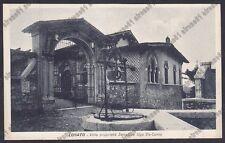 BRESCIA LONATO DEL GARDA 09 VILLA Senatore UGO DA-COMO Cartolina VIAGGIATA 1937