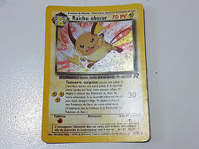 Carte Pokemon - Raichu Obscur 70PV - 83/82 - Secrète - Holo - Team Rocket