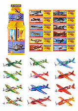 Box of 48 x Jet Fighters Flying Gliders Paper Planes Game Party Bag Filler Toy
